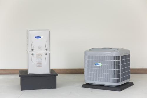 Carrier Air Conditioner and Furnace